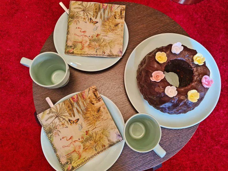 RetroCat's week: Coffee and chocolate cake