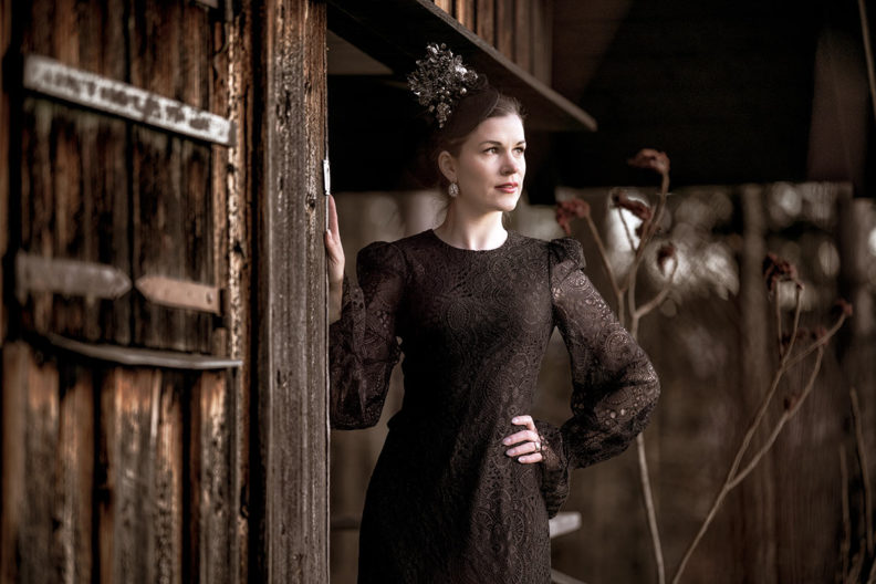 Elegant, festive, dark: The Vampire's Wife x H&M Collection