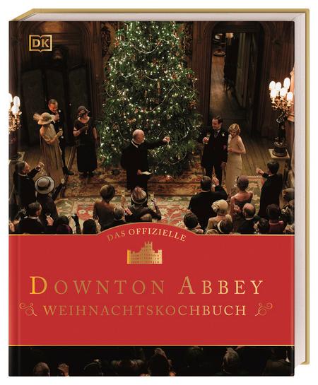 Das Cover des Downton Abbey Weihnachtskochbuch vom DK Verlag