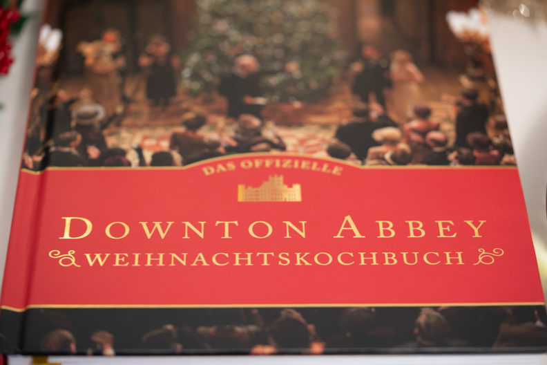 Das offizielle Downton Abbey Weihnachtskochbuch vorgestellt von RetroCat