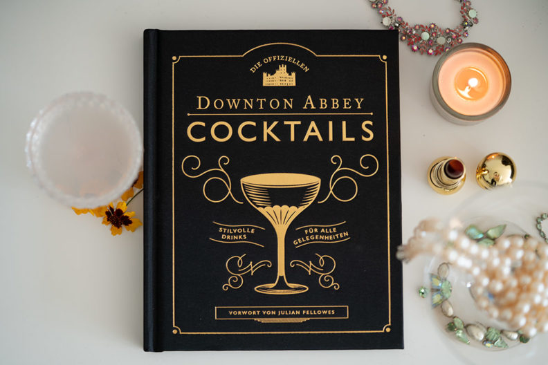 Ideas for your New Year's Eve cocktails from the Downton Abbey Cocktail book