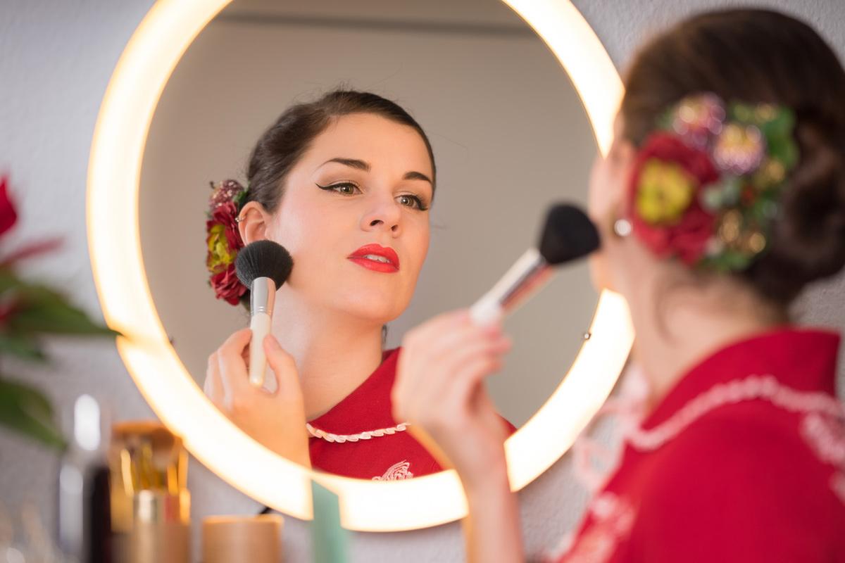 Beleuchtete Schminkspiegel für ein perfektes Make-up