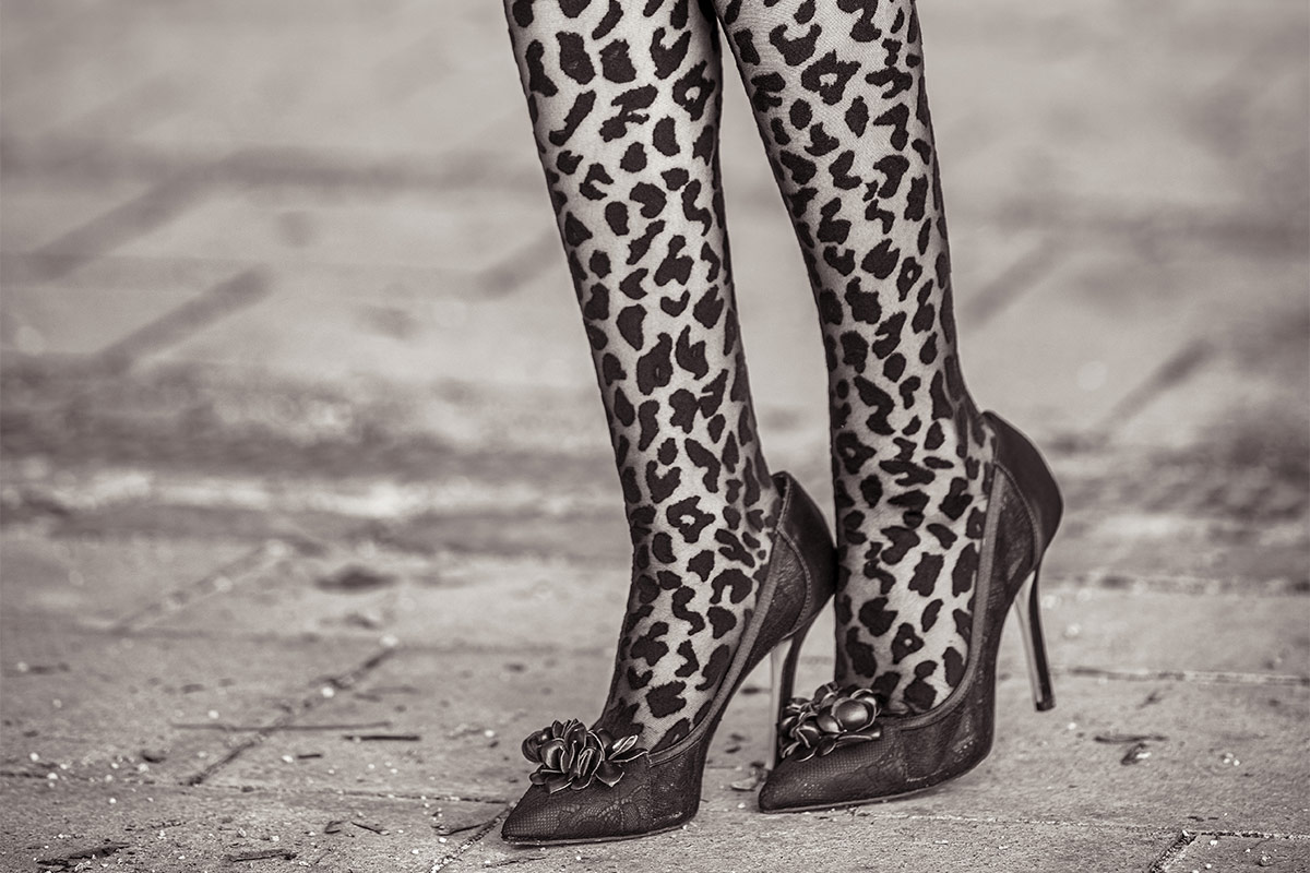 The most beautiful patterned Fashion Tights