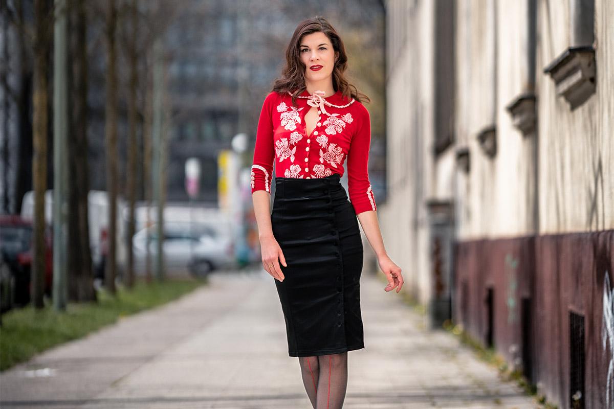 Outfit-Tipp: Irma Skirt und Dita Cardigan von Wheels and Dollbaby
