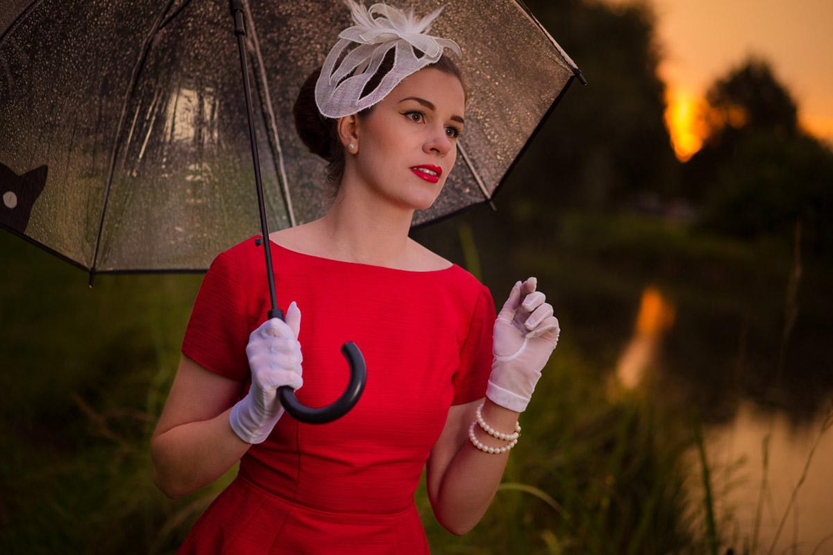 Transparente Regenschirme: Stylishe Begleiter bei schlechtem Wetter