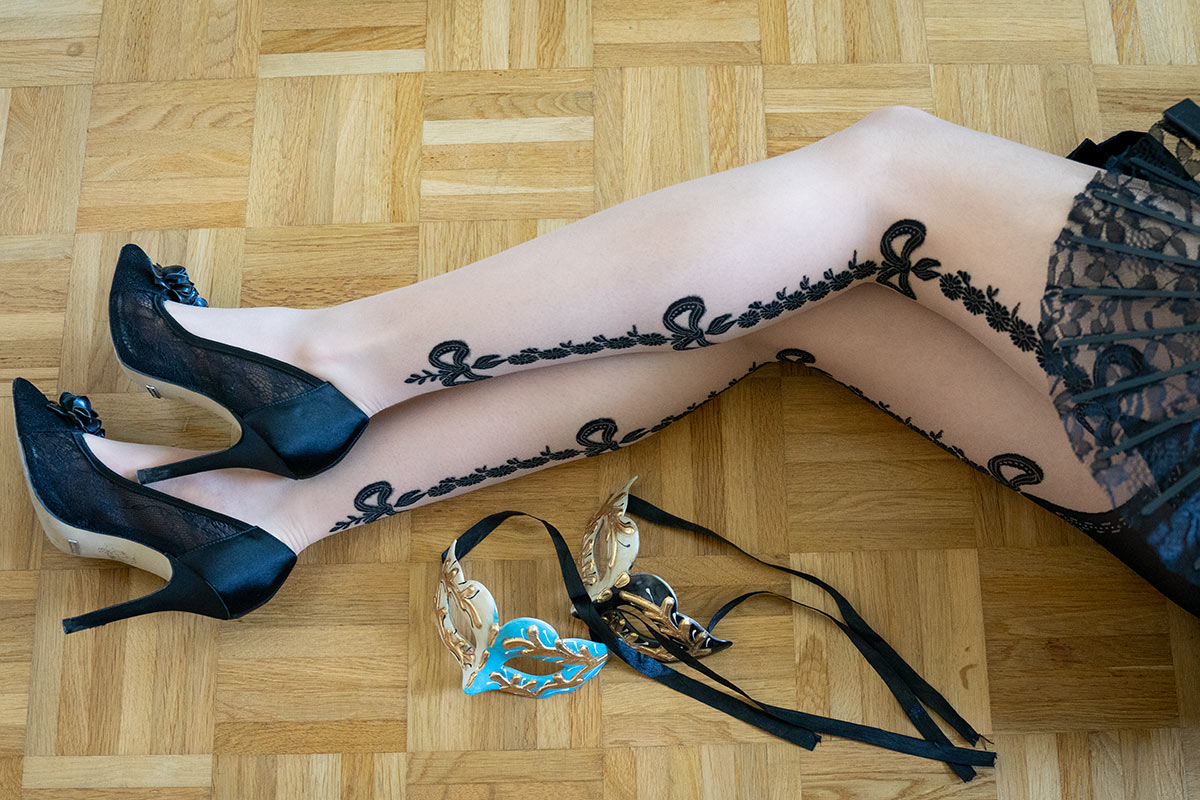 Review: The magnificent Cosette Tights by Trasparenze