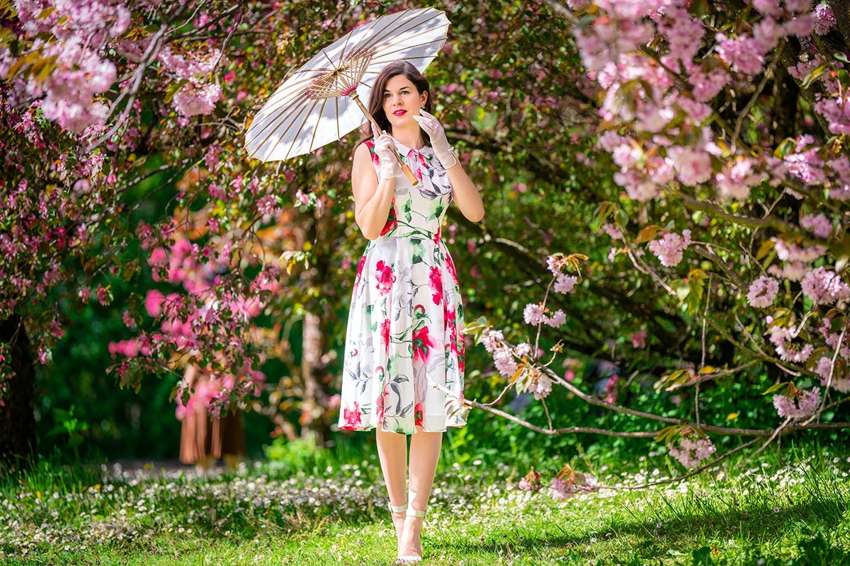 A pink Dream: Flower Dress for Cherryblossom Season