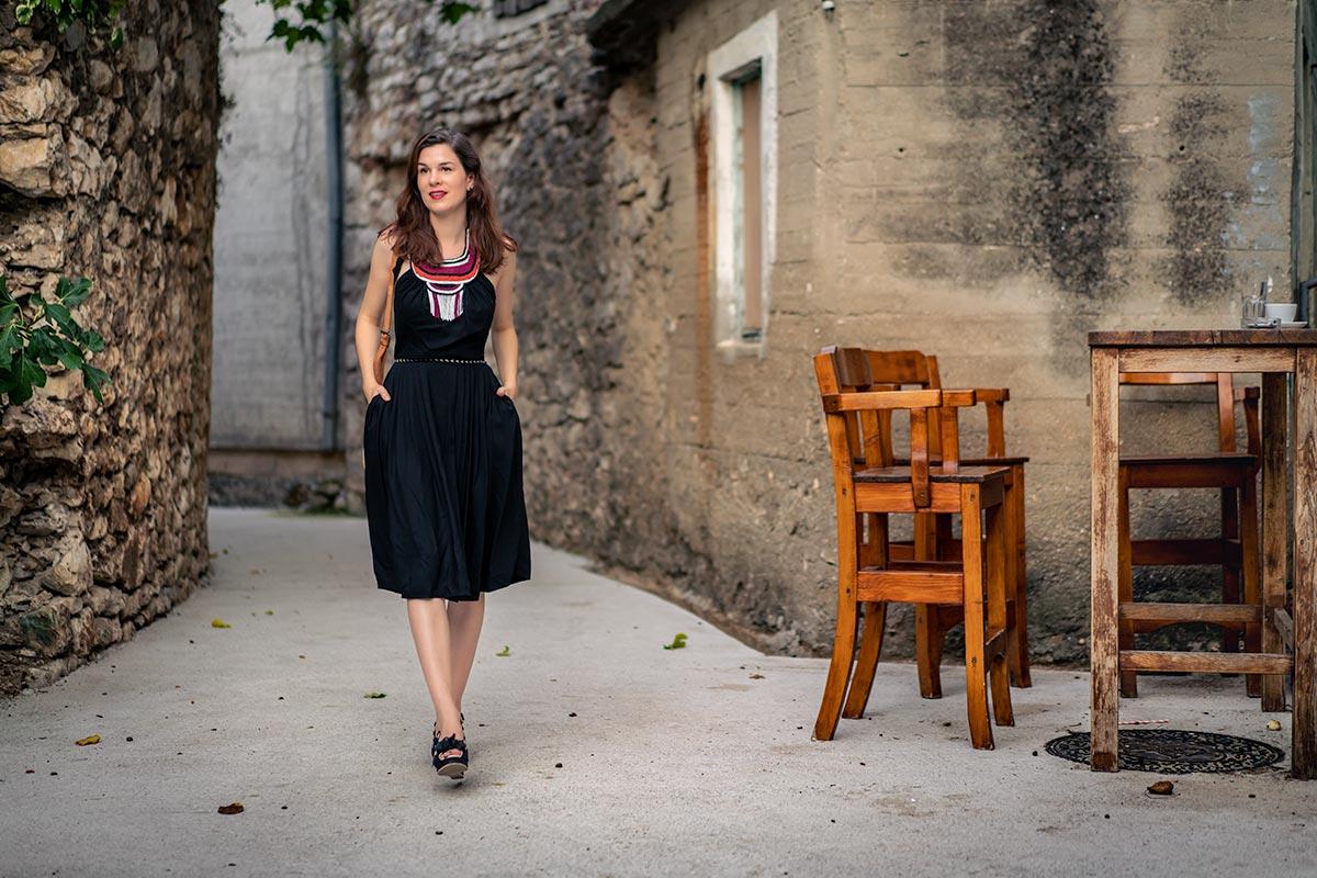 Summery Greetings from Croatia: A Summer Dress by Lena Hoschek