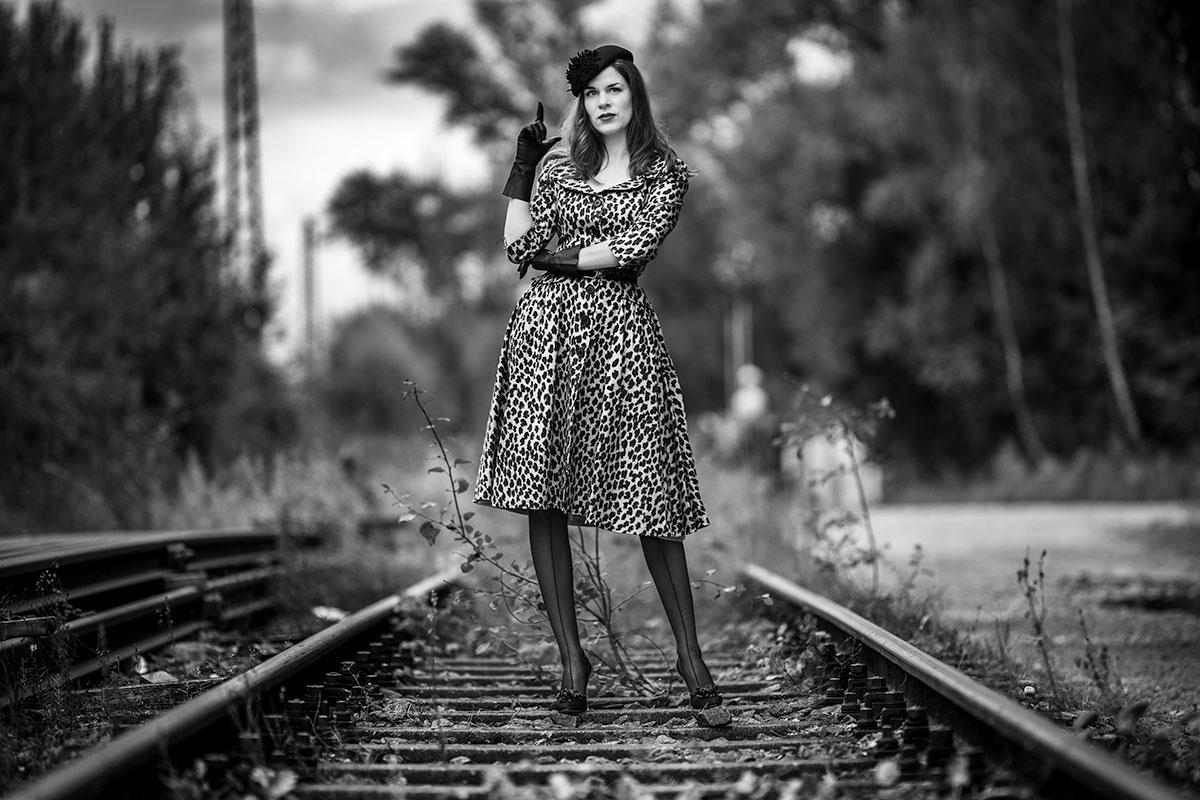 Wild trifft stylish: Ein Leoparden-Kleid von Lena Hoschek