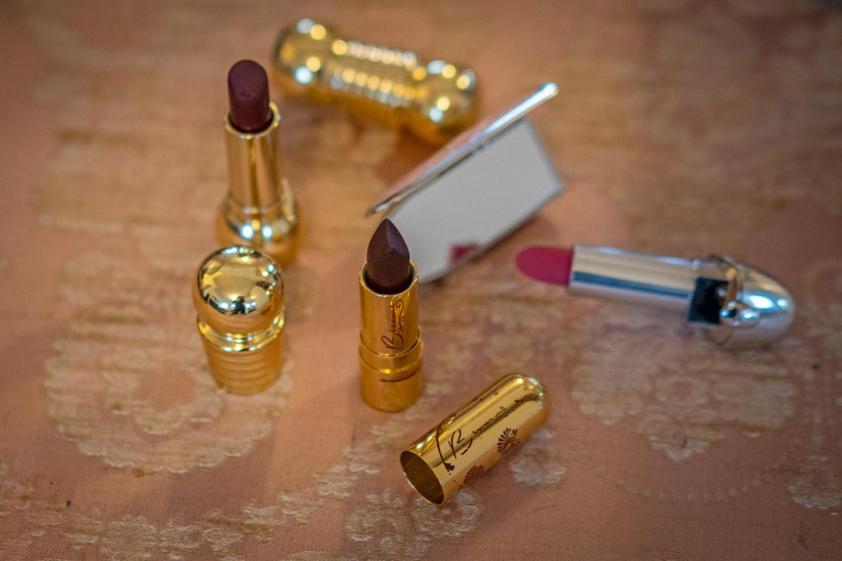 Glamouröse Lippenstifte im Vintage-Stil